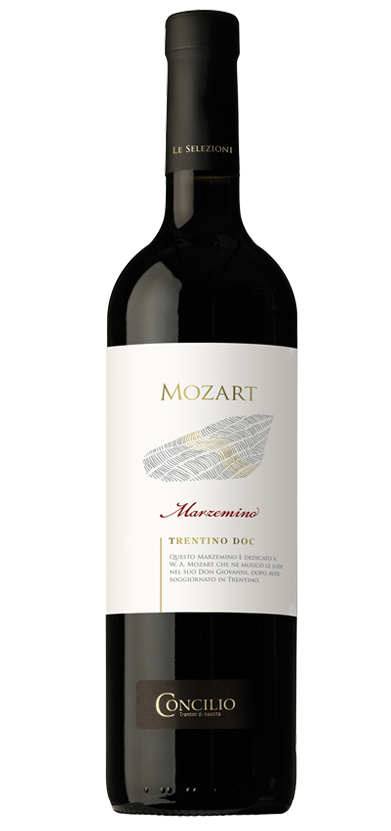 This Marzemino is dedicated to W. A. Mozart, who set to music its eulogies in his &ldquo;Don Giovanni&rdquo; after having stayed in Trentino&nbsp;&nbsp;<br />